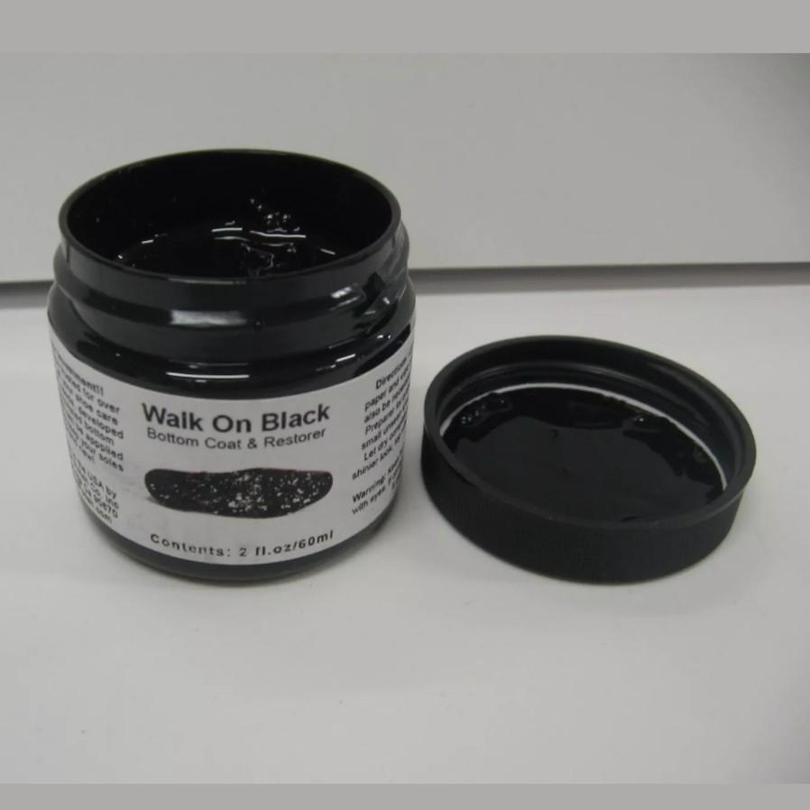a74439ed467 Angelus Walk On Black Sole Paint (Restore or Paint Shoe Bottoms) 2 ...