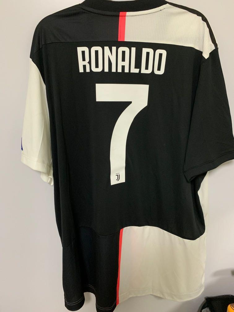 the latest 2afaa 34a76 Authentic Juventus 19/20 Adidas Jersey with Cristiano ...