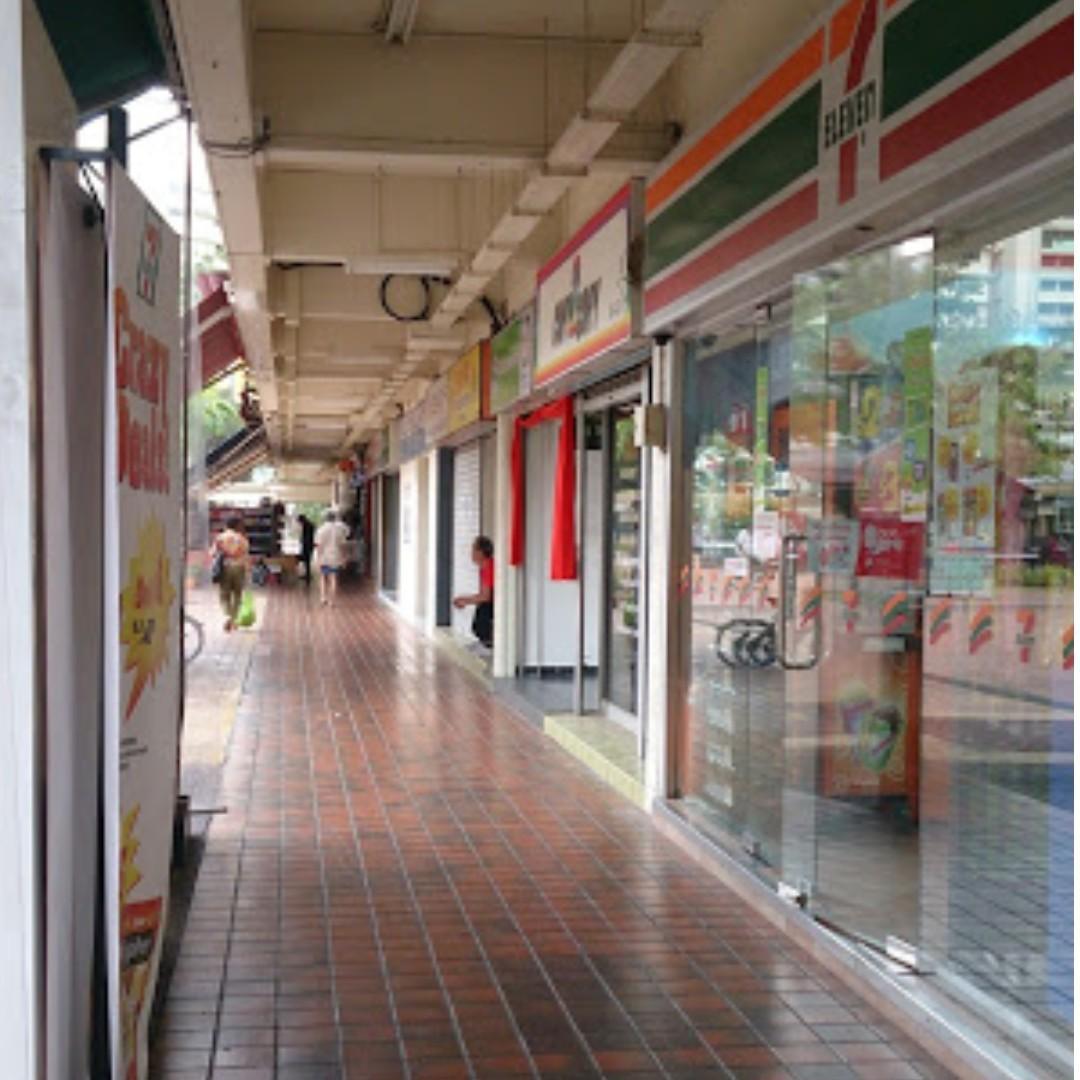 Bedok Blk 25 shop space facing open area