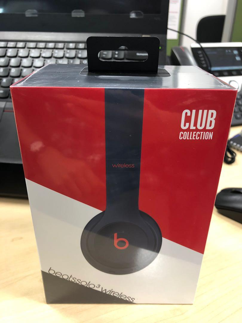 BNIB] Beats Solo 3 Wireless Club Collection  FAST and FUSS