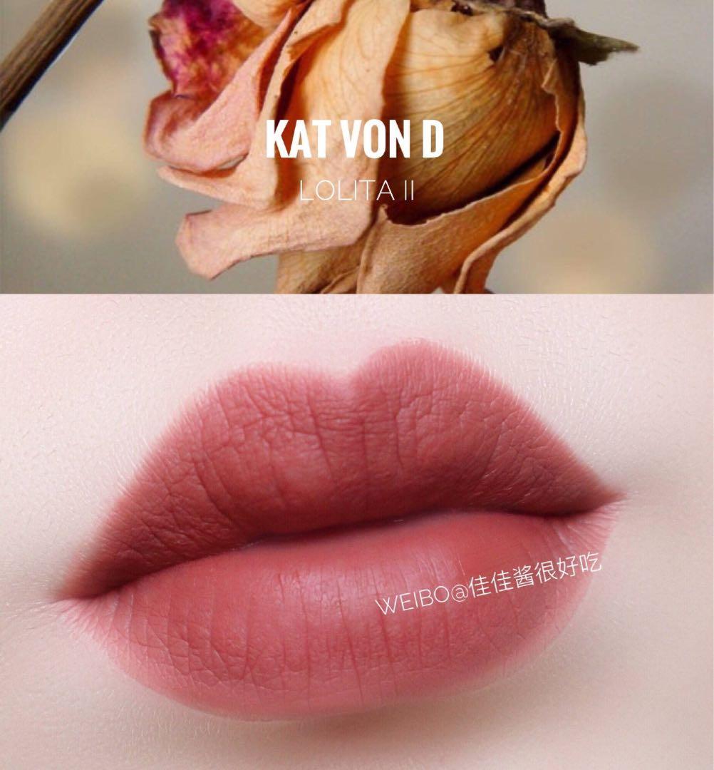 【BRAND NEW】KAT VON D everlasting liquid lipstick in LOLITA II