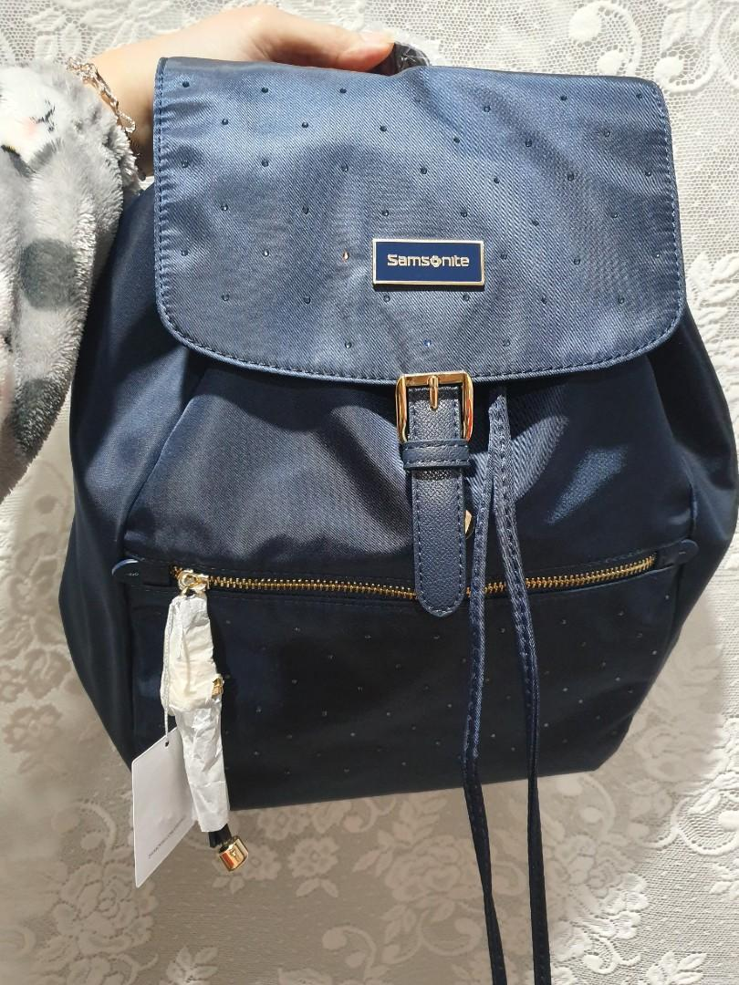 Brandnew Samsonite backpack with Swarovski Crystals