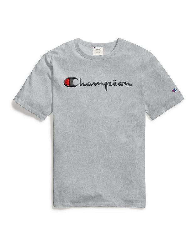 #PROMO# Champion Script Tee [Embroidered & Non-Embroidered]