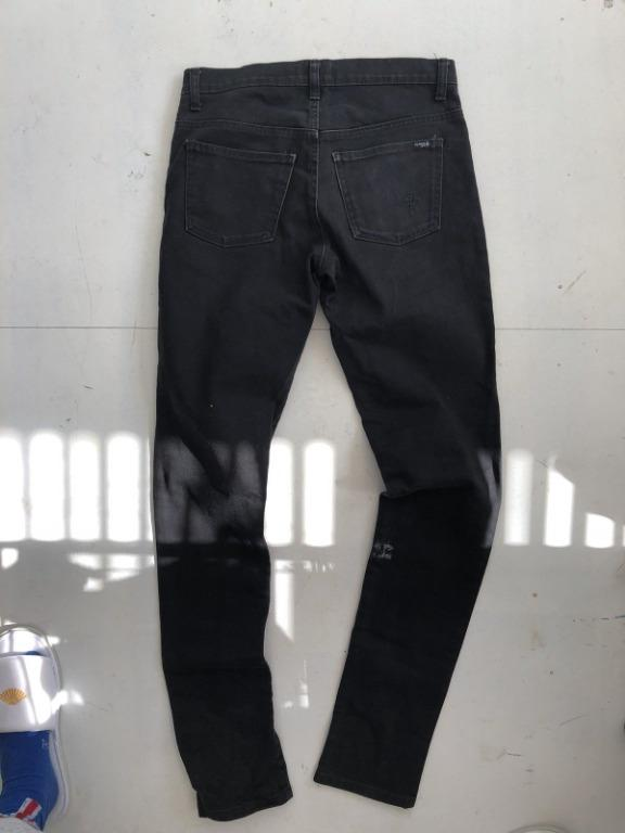 Claude Maus Black Skinny Denim Jeans | 30 | Made in Melb.