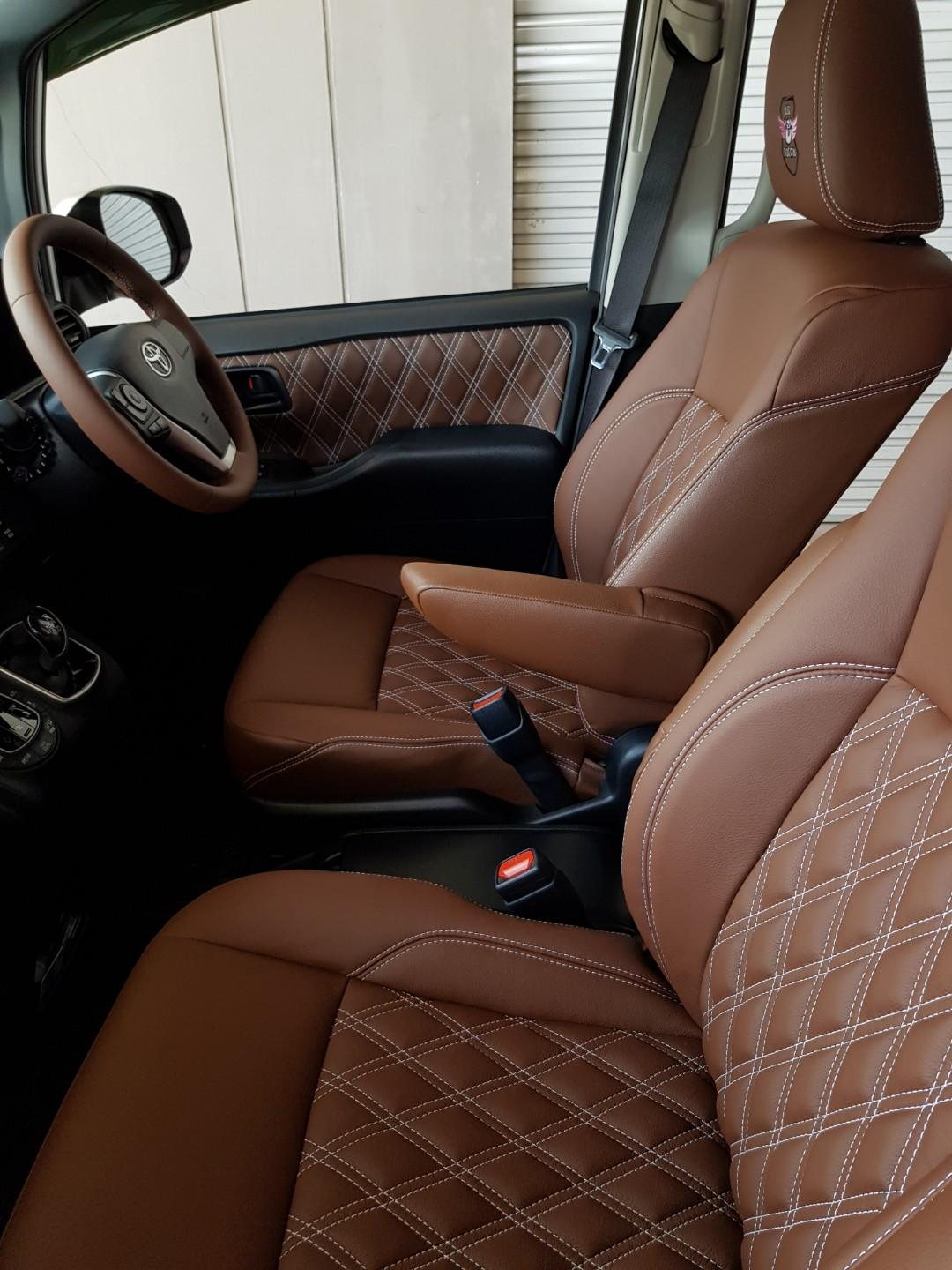Customisable Car Seat Leather Upholstery