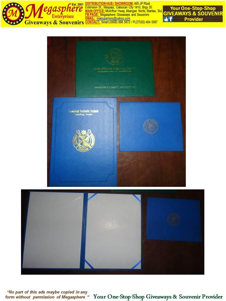 Diploma Holder, Certificate Holder Giveaways Souvenirs Promotional Items Corporate Giveaways