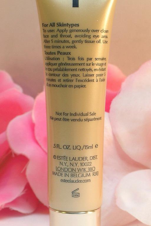 ESTEE LAUDER Revitalizing Supreme Global Anti Aging Face Mask Boost 15ml. New.