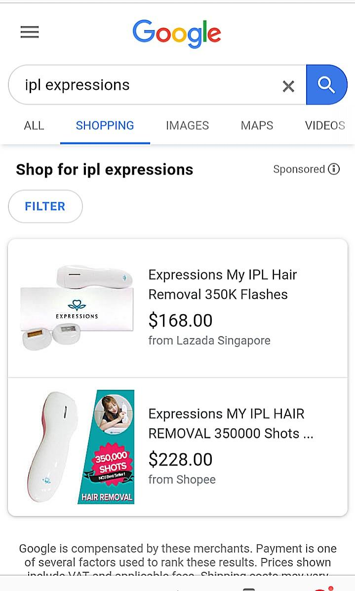 Expressions My IPL for Hair Removal