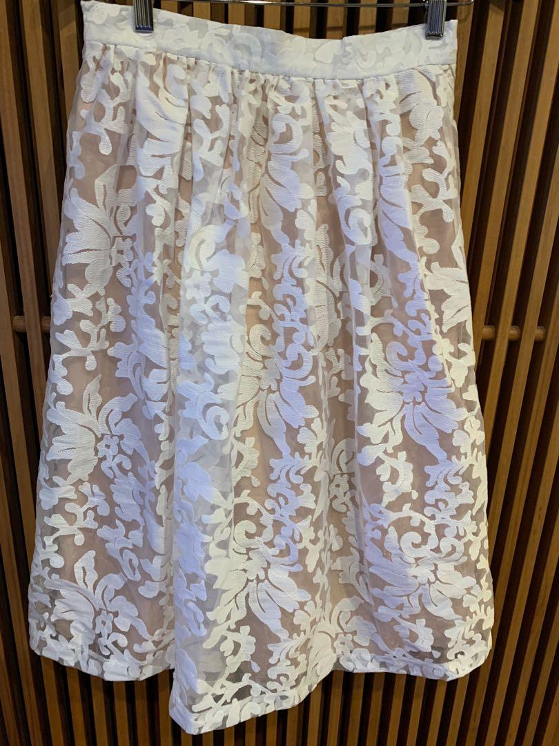 Fleurette by Fleur Wood Blush Skirt Brand New with Tag RRP $139
