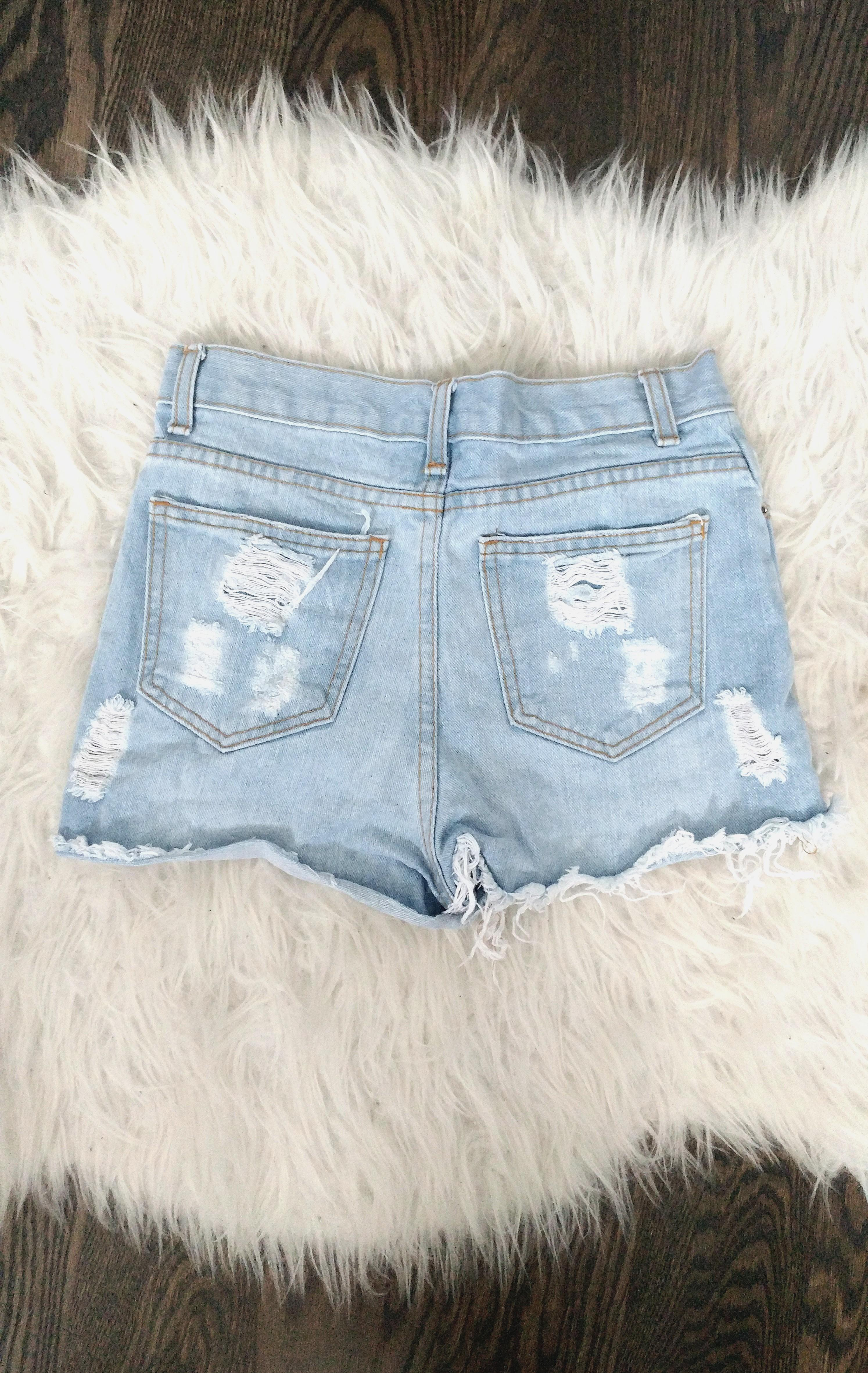 High-waisted shorts from Brandy Melville