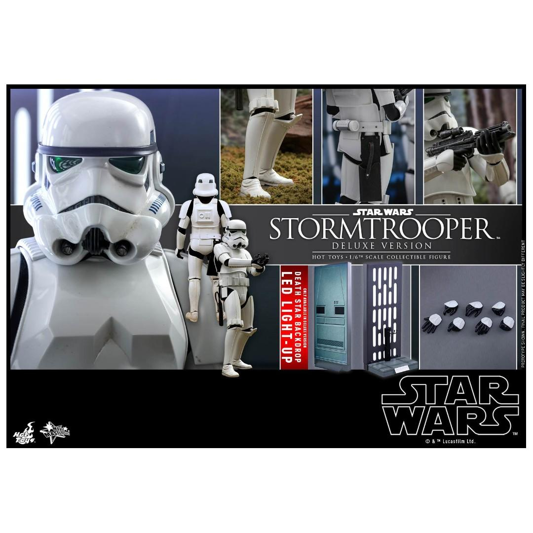 Hot Toys MMS515 STAR WARS STORMTROOPER (DELUXE)