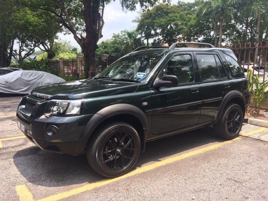 Land Rover Freelander 4WD British Green 2.0 Auto Diesel