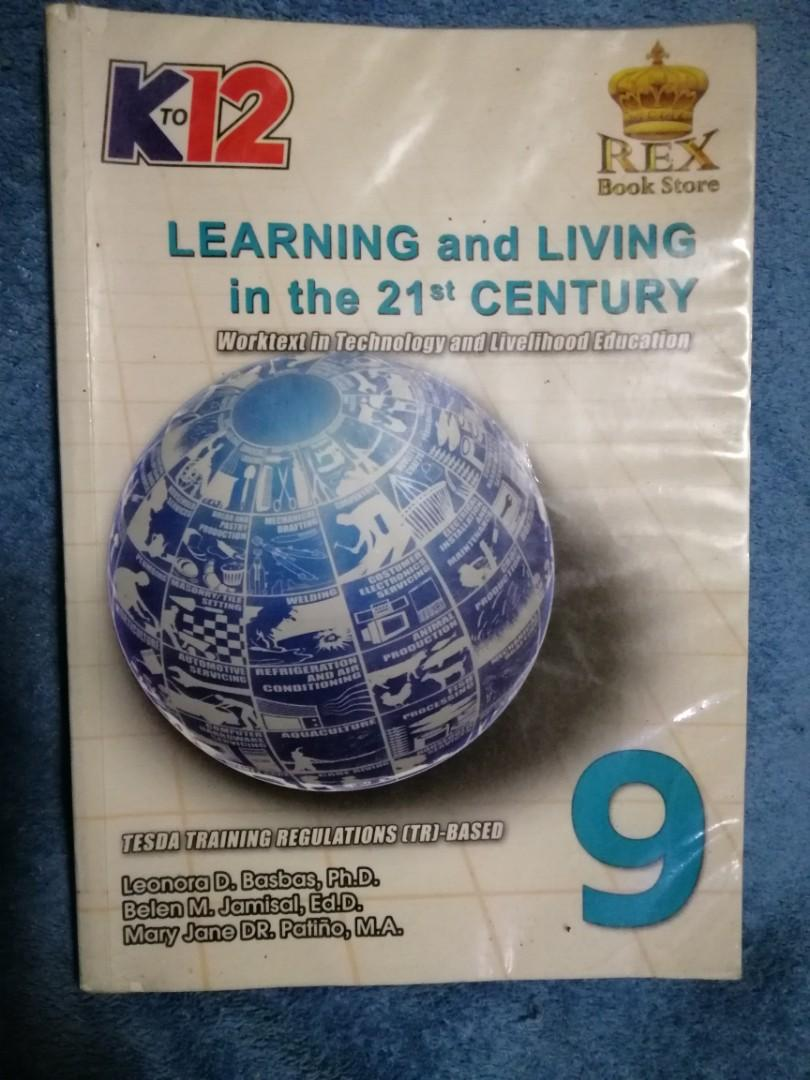 Learning ang Living in the 21st Century grade 9 book published by Rex Book store