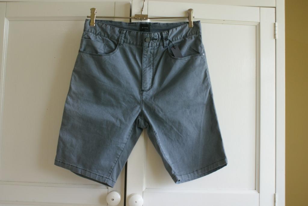 Nique Men's Shorts | Size 28 | Grey | New | RRP $100
