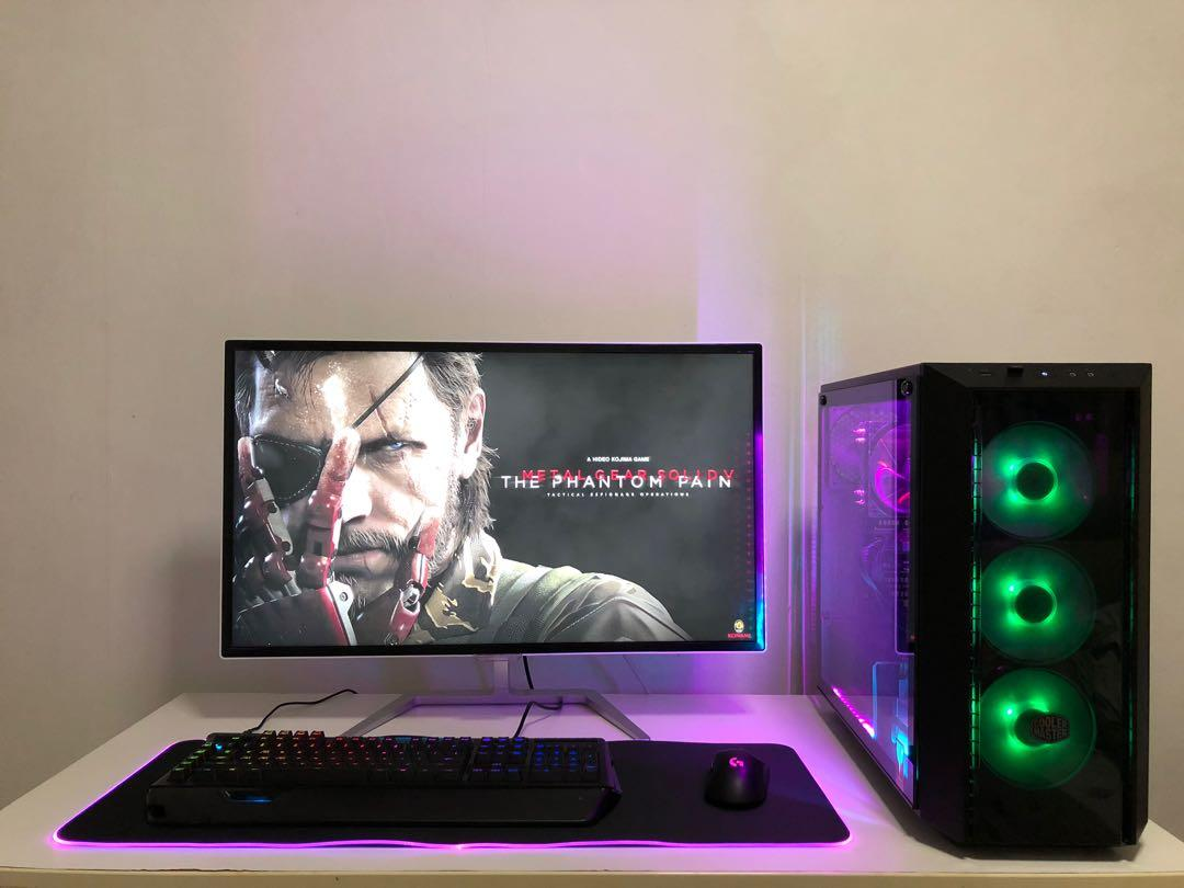 🔥No 85 Gaming Desktop i5-6500 with GTX 1060 6GB on Carousell