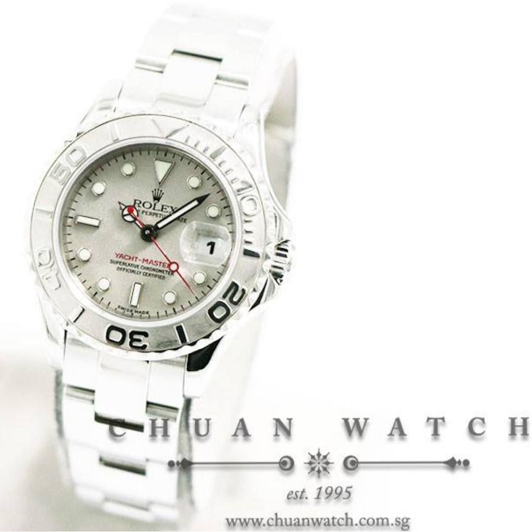 Pre-Owned Rolex Ladies' Yacht-Master 29mm 169622 - Discontinued