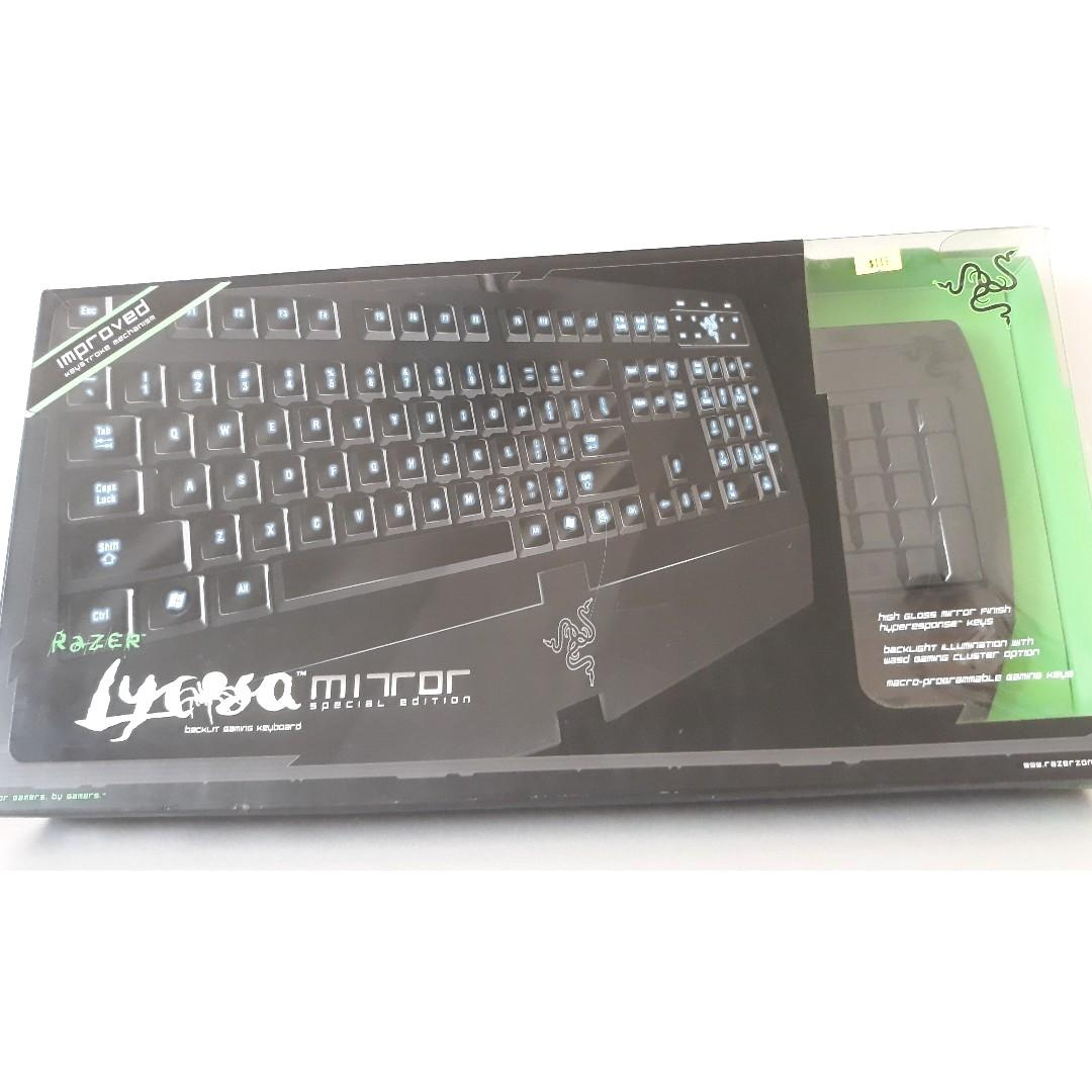 Razer Lycosa Mirror Special Edition Keyboard on Carousell