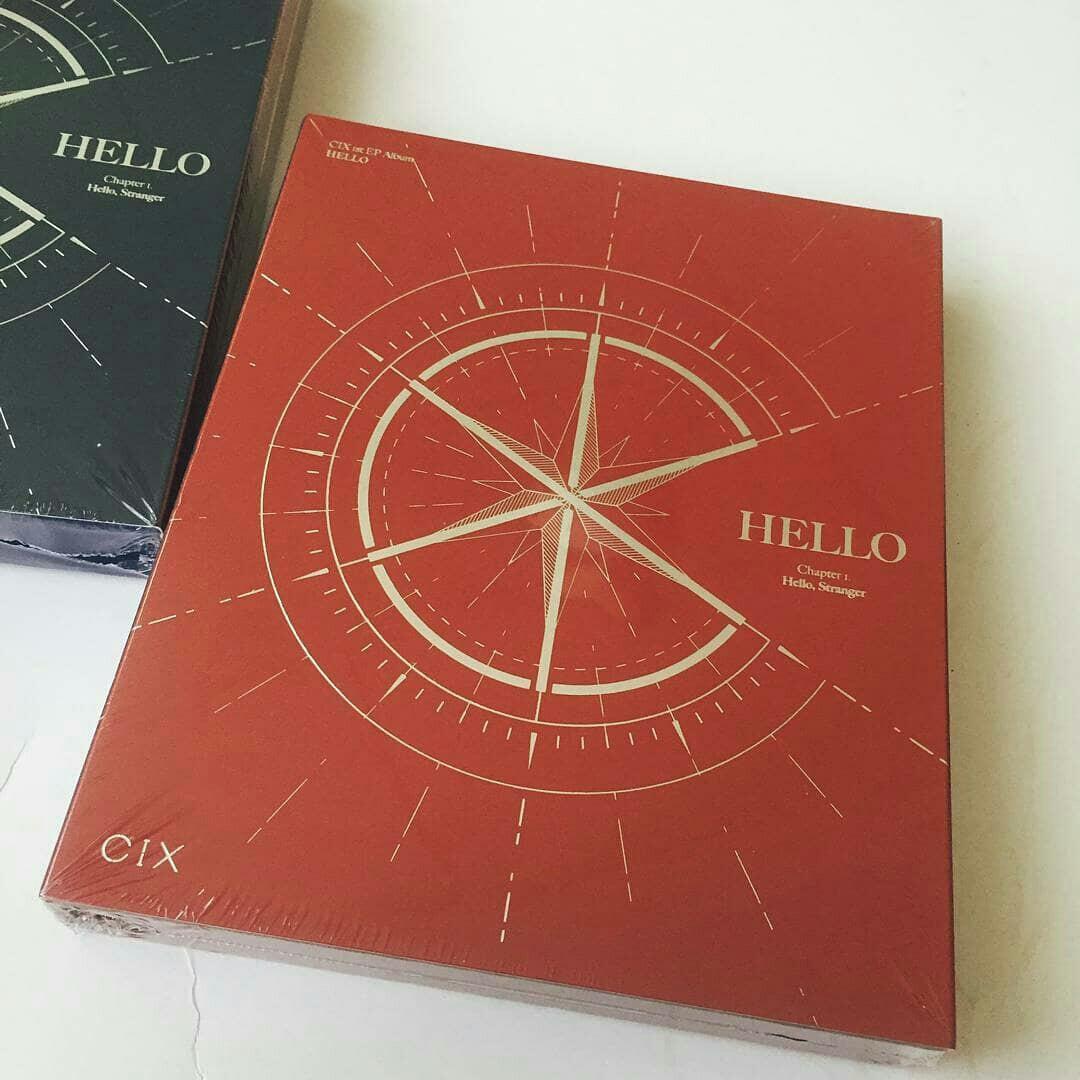 [READYSTOCK:SEALED]  CIX - HELLO Chapter 1. HELLO, STRANGER
