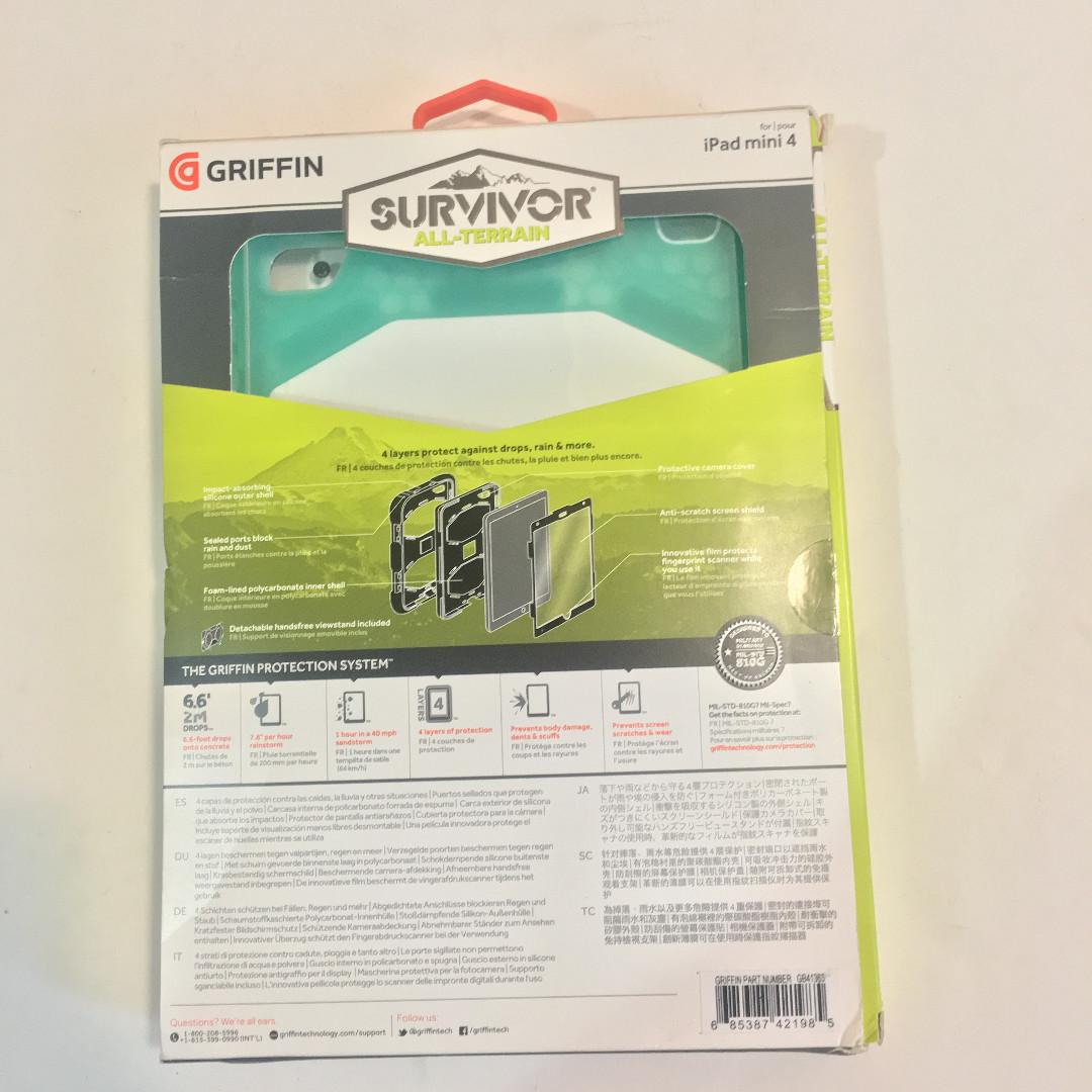 Survivor All-Terrain Protective Case for iPad Mini