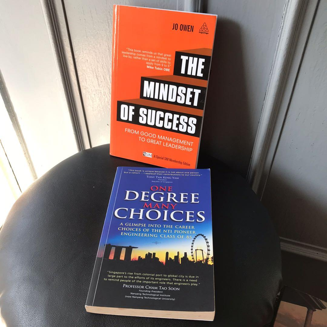 The Mindset Of Success Jo Owen, One Degree Many Choices