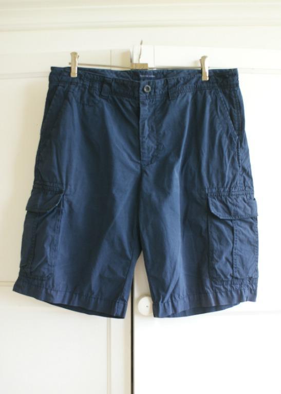 Tommy Hilfiger Cargo Shorts | Size 38 XL Navy | RRP $119.95