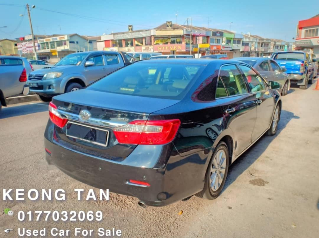 TOYOTA CAMRY 2.0AT G SPEC 2012TH Tambah Skirt Full Bodykit/LEATHER Seat🎉Cash💰Offer Price💲Rm71,800 Only‼ Lowest Price InJB 🎉📲 Keong‼🤗