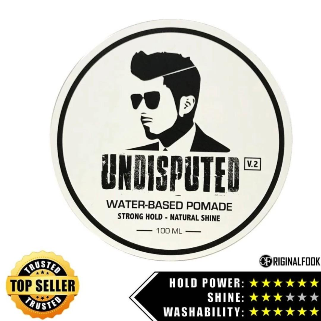 UNDISPUTED Waterbased Strong Hold Pomade V2.0