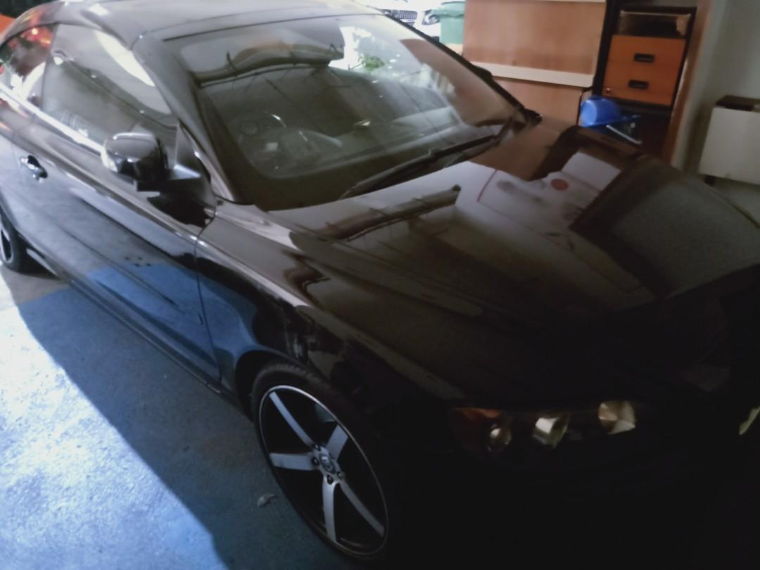 Volvo C70 Convertible for rental