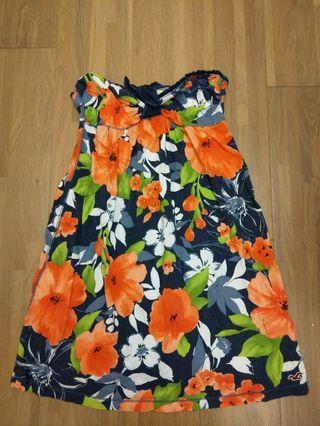 正貨 Hollister 平口小洋裝 渡假小洋裝