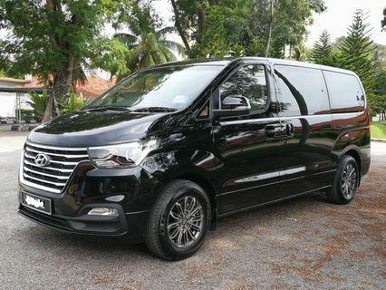 Hyundai Grand Starex 2019 Latest Model - Rental