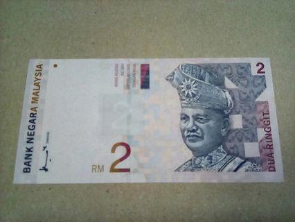 MALAYSIA — MYR 2 — 1996 — unc ✓