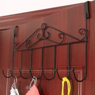 Nailess door multipurpose hook hanger