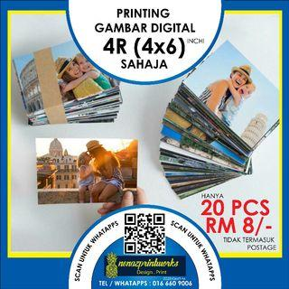 Digital Photo Printing 4R Only