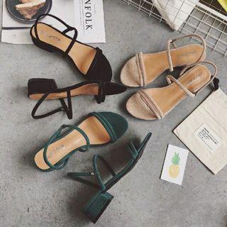 Ready stock 2 way heels