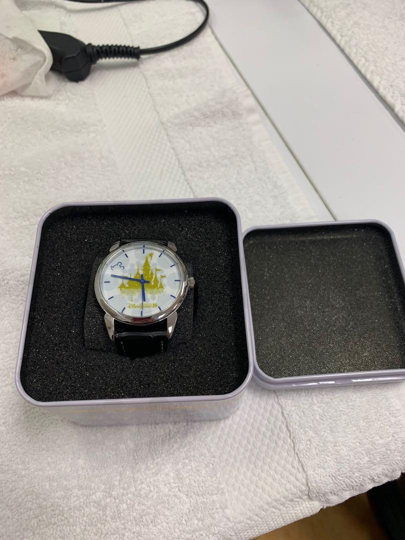 香港迪士尼10周年手錶(全新)