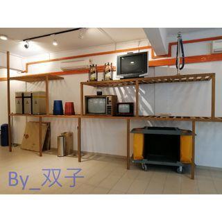Custom made - Second Hand Wooden Rack / 二手木架 / Serbaguna Kayu Rak Lama
