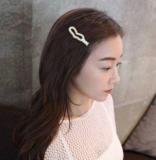 Ins Hairpin Korea Pearl Gold + Ivory