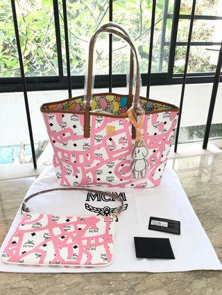 MCM Tote Bag Limeted Edition
