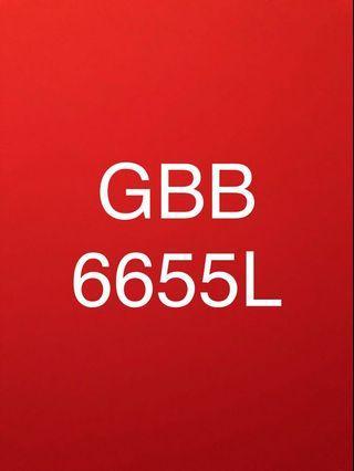 Van plate GBB6655L