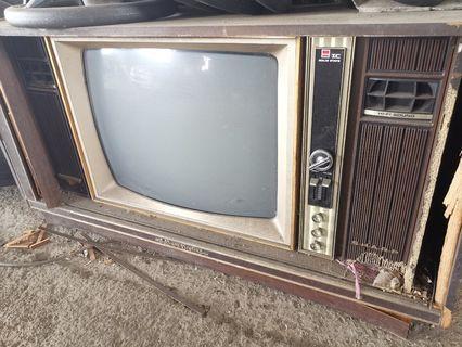 Sharp 1960s tv