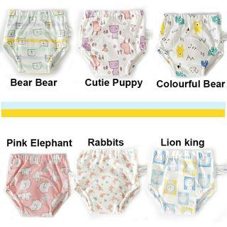 🔥High Quality 6 Layers Kids Toddlers Diaper Free Potty Training Pants unisex