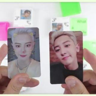 wtb lf all chanyeol exo sc what a life photocard kihno official