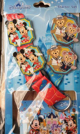 Lanyard - Mickey Mouse with Pins