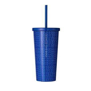 Korea Starbucks Reserve Blue Pattern Cold Cup 473ml
