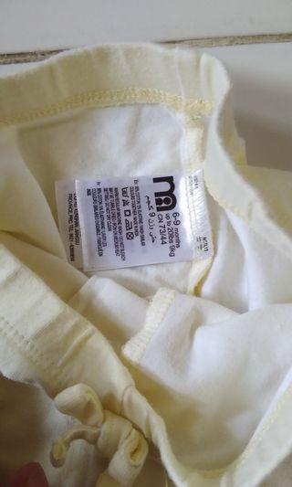 Celana Panjang Legging Mothercare Ori Warna Kuning Soft