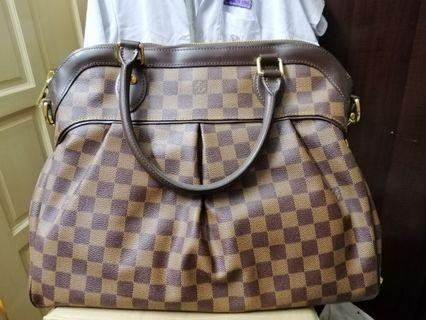 Louis Vuitton tote Tivoli Trevi Damier canvas bag