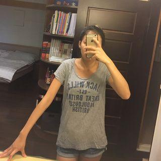 英國名牌Jack Wills灰色T Shirt