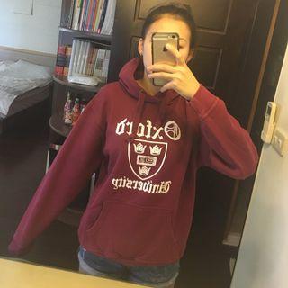 英國帶回 牛津大學帽T