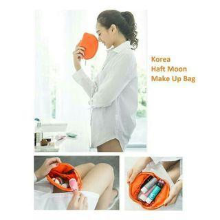Korea Haft Moon Make Up Bag Pouch
