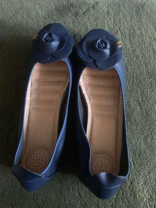 Blue flat shoes chanel (not original)